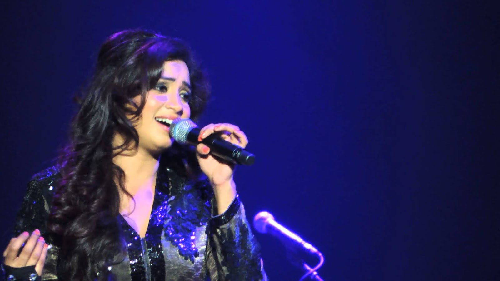 shreya ghoshal Singer shreya ghoshal tweeted 5 days ago about being super-excited and nervous don't know if i'm super nervous or super excited never felt like this b4 whatever i am up.
