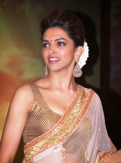 Deepika-padukone-images-Most-Beautiful-Ever-in-saree-hot