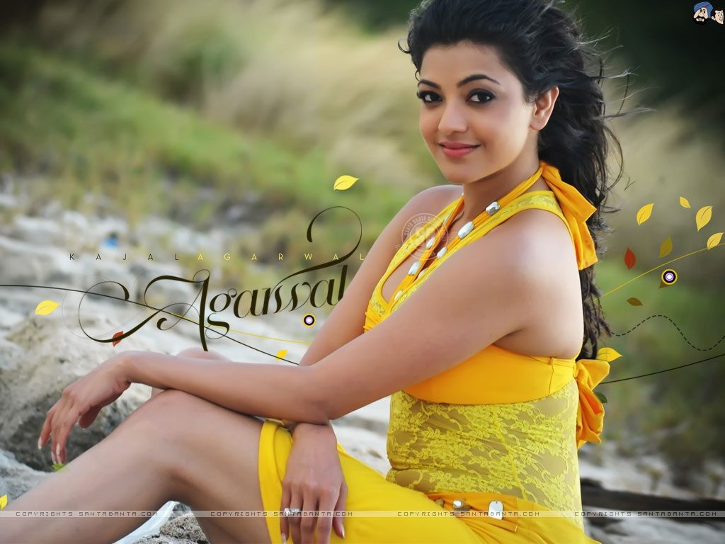 kajal-images-HD-Wallpaper-collection-in-yellow-dress-1024x768